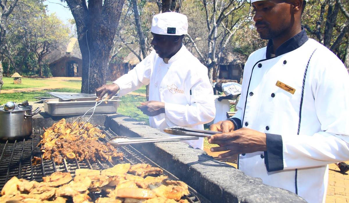 'Meat' the staff who bring the heat to  Zambezi's kitchen!