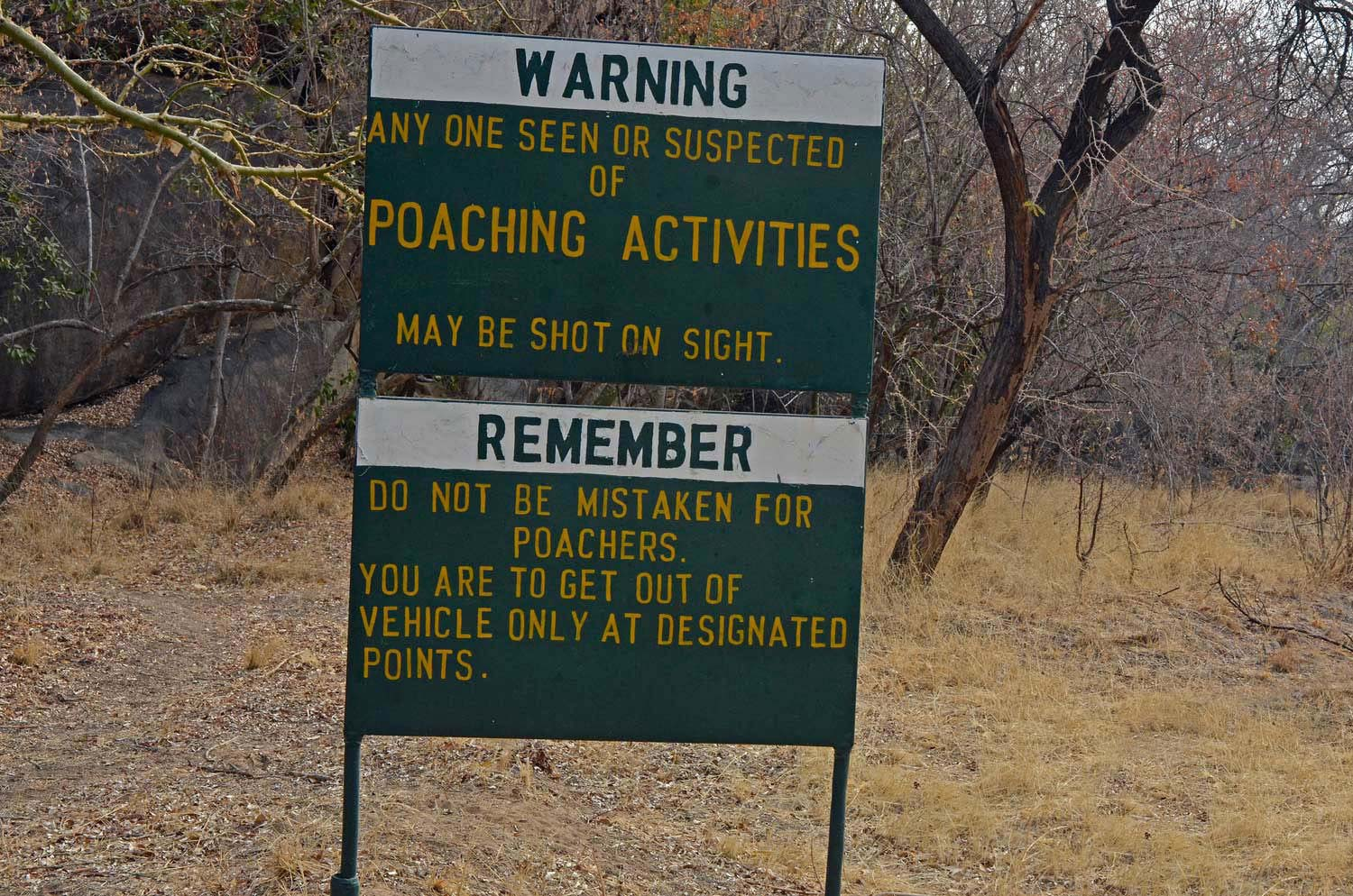 "Anti-poaching. ""Time for a new approach?"""